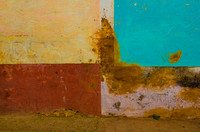 Wall Abstract, Trinidad,Cuba