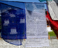 Prayer Flag Detail,Dochu-La Pass,Bhutang