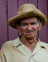Farmer with Straw Hat,Vinales,Cuba