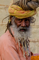 Holy Man,Jaisalmer, India