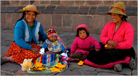 Mothers and Children,Cuzco,Peru