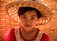Young Girl in Morning Market
