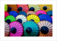 Colorful Parasols 1