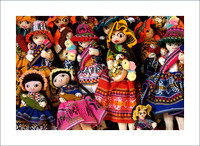 Dolls in Marketplace
